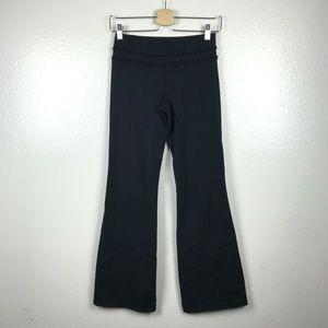 lululemon athletica Pants - Lululemon Ruffled Up Groove Pants in Black